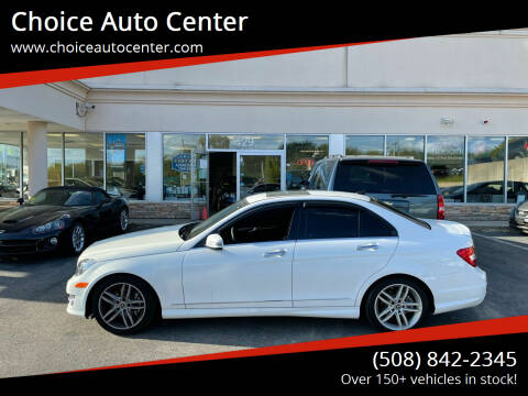 2013 Mercedes-Benz C-Class for sale at Choice Auto Center in Shrewsbury MA