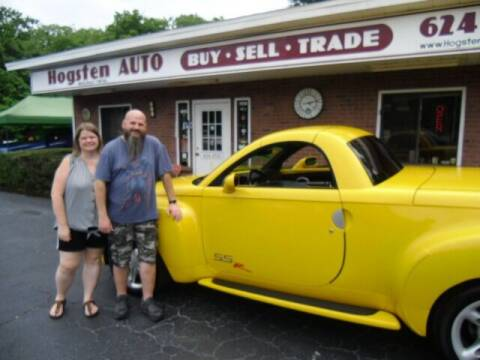 2003 Chevrolet SSR for sale at HOGSTEN AUTO WHOLESALE in Ocala FL