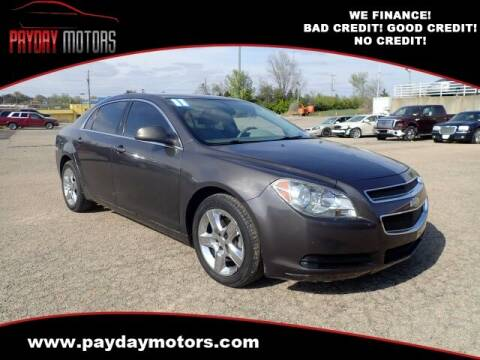 2011 Chevrolet Malibu for sale at Payday Motors in Wichita And Topeka KS