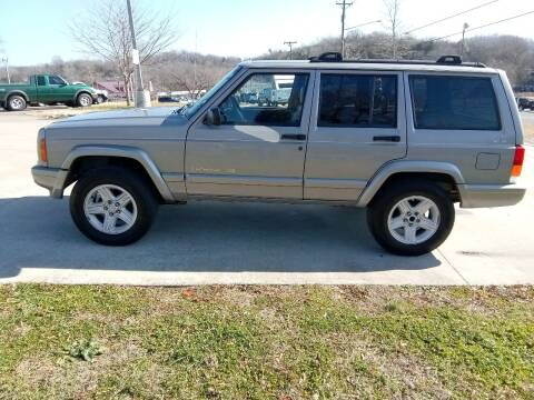 2000 Jeep Cherokee for sale at HIGHWAY 12 MOTORSPORTS in Nashville TN