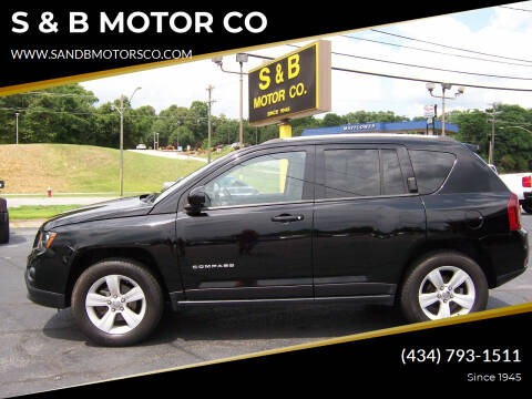 2016 Jeep Compass for sale at S & B MOTOR CO in Danville VA