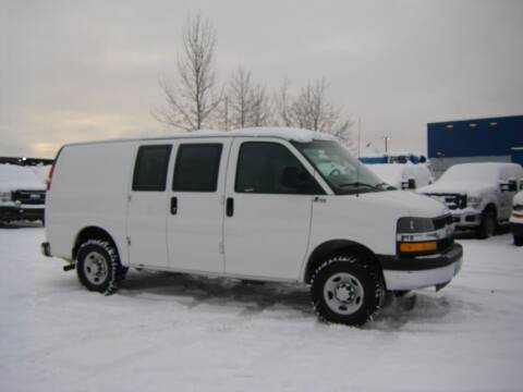 2015 Chevrolet Express Cargo for sale at NORTHWEST AUTO SALES LLC in Anchorage AK