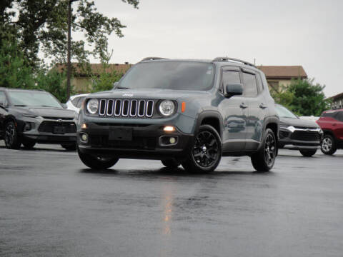 2017 Jeep Renegade for sale at Jack Schmitt Chevrolet Wood River in Wood River IL