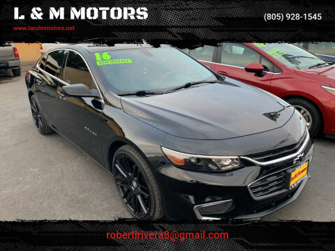 2016 Chevrolet Malibu for sale at L & M MOTORS in Santa Maria CA