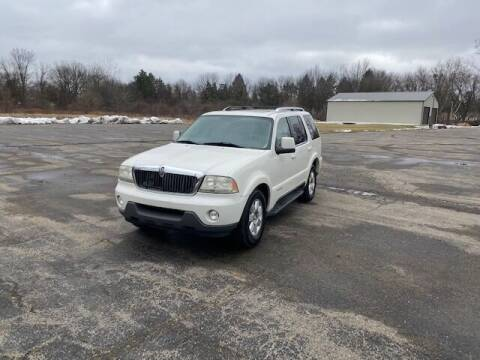 2003 Lincoln Aviator for sale at Caruzin Motors in Flint MI