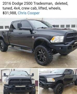 2016 Dodge Ram Chassis 2500 for sale at COOPER AUTO SALES in Oneida TN