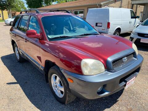 2003 Hyundai Santa Fe for sale at Truck City Inc in Des Moines IA