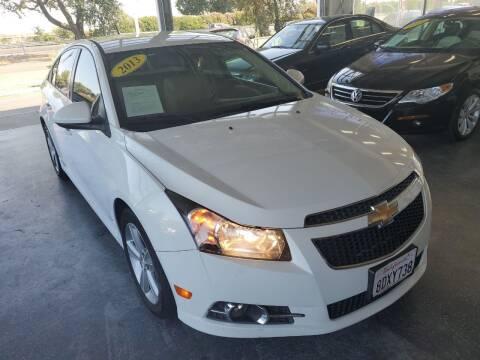 2013 Chevrolet Cruze for sale at Sac River Auto in Davis CA