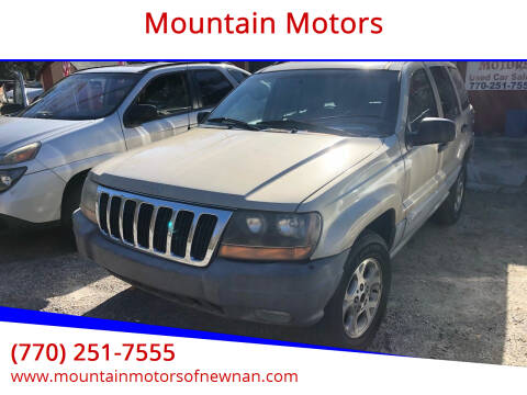 1999 Jeep Grand Cherokee for sale at Mountain Motors in Newnan GA