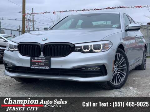 2018 BMW 5 Series for sale at CHAMPION AUTO SALES OF JERSEY CITY in Jersey City NJ