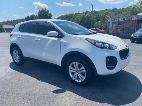 2018 Kia Sportage for sale at Elk Avenue Auto Brokers in Elizabethton TN