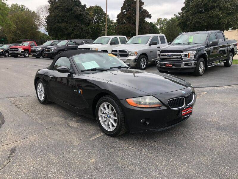 2004 BMW Z4 for sale at WILLIAMS AUTO SALES in Green Bay WI