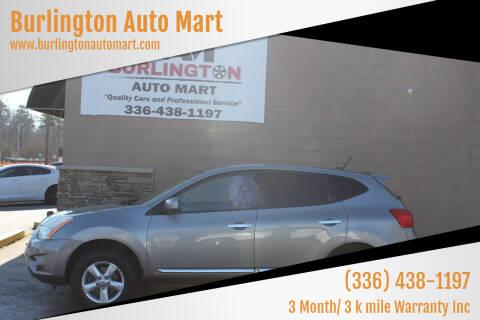 2013 Nissan Rogue for sale at Burlington Auto Mart in Burlington NC