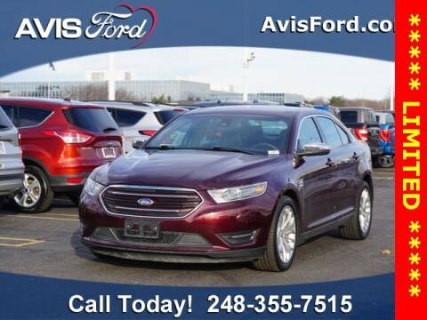 2019 Ford Taurus for sale at Work With Me Dave in Southfield MI