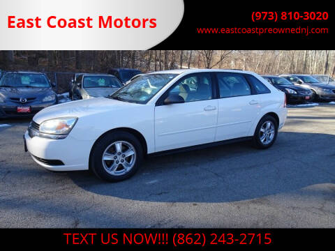 2005 Chevrolet Malibu Maxx for sale at East Coast Motors in Lake Hopatcong NJ