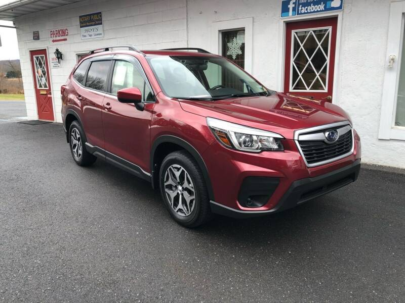 2019 Subaru Forester for sale at Hoys Used Cars in Cressona PA