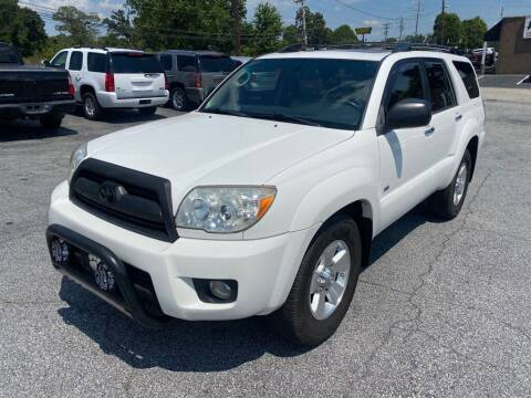 2007 Toyota 4Runner for sale at Brewster Used Cars in Anderson SC