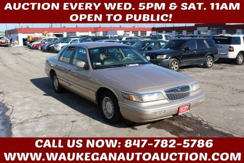 1997 Mercury Grand Marquis for sale at Waukegan Auto Auction in Waukegan IL