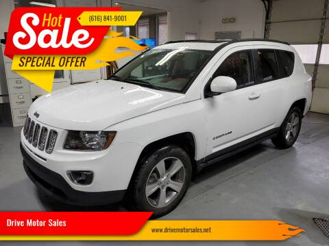 2017 Jeep Compass for sale at Drive Motor Sales in Ionia MI