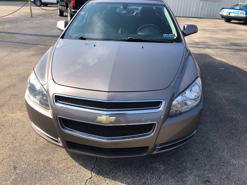 2012 Chevrolet Malibu for sale at Berwyn S Detweiler Sales & Service in Uniontown PA