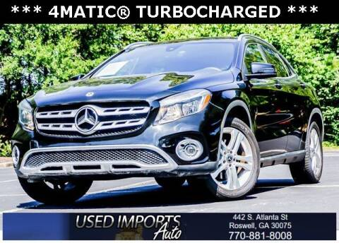 2018 Mercedes-Benz GLA for sale at Used Imports Auto in Roswell GA