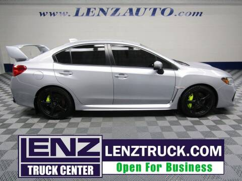 2018 Subaru WRX for sale at LENZ TRUCK CENTER in Fond Du Lac WI