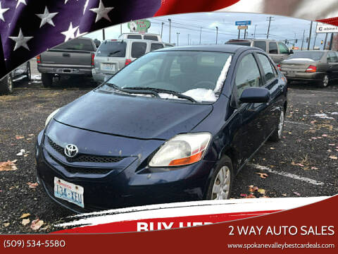 2008 Toyota Yaris for sale at 2 Way Auto Sales in Spokane Valley WA