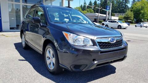2015 Subaru Forester for sale at Seattle's Auto Deals in Everett WA