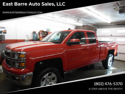 2015 Chevrolet Silverado 1500 for sale at East Barre Auto Sales, LLC in East Barre VT