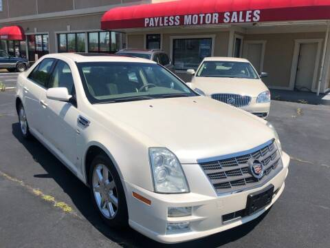 2008 Cadillac STS for sale at Payless Motor Sales LLC in Burlington NC
