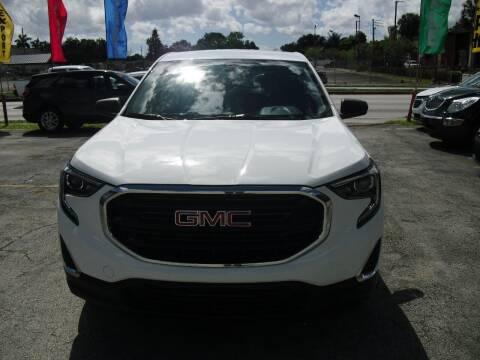 2018 GMC Terrain for sale at SUPERAUTO AUTO SALES INC in Hialeah FL