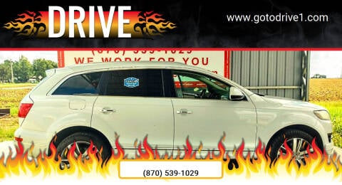 2013 Audi Q7 for sale at Drive in Leachville AR