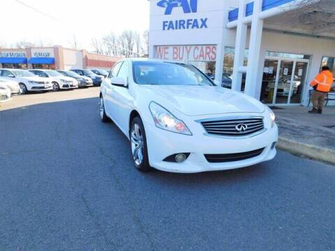 2011 Infiniti G37 Sedan for sale at AP Fairfax in Fairfax VA