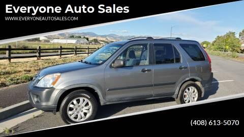 2005 Honda CR-V for sale at Everyone Auto Sales in Santa Clara CA
