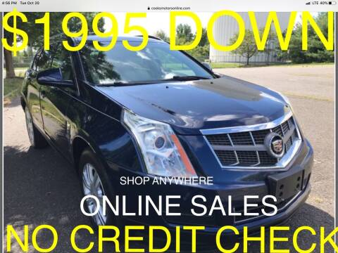 2011 Cadillac SRX for sale at Cooks Motors in Westampton NJ