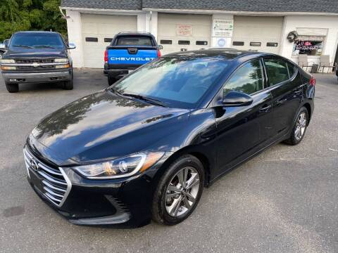2017 Hyundai Elantra for sale at East Windsor Auto in East Windsor CT