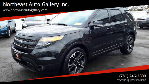 2015 Ford Explorer for sale at Northeast Auto Gallery Inc. in Wakefield Ma MA