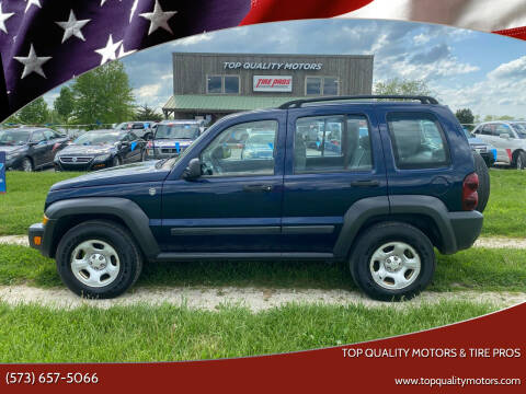 2007 Jeep Liberty for sale at Top Quality Motors & Tire Pros in Ashland MO