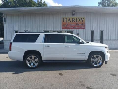 2016 Chevrolet Suburban for sale at Hardy Auto Resales in Dallas GA