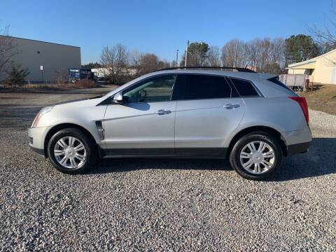 2010 Cadillac SRX for sale at MEEK MOTORS in North Chesterfield VA