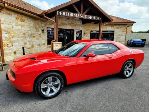2015 Dodge Challenger for sale at Performance Motors Killeen Second Chance in Killeen TX
