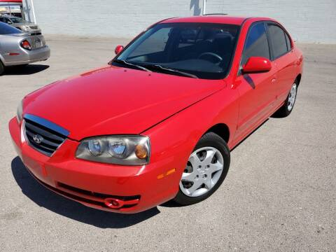 2004 Hyundai Elantra for sale at TJ Motors in Las Vegas NV