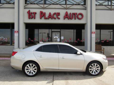 2016 Chevrolet Malibu Limited for sale at First Place Auto Ctr Inc in Watauga TX