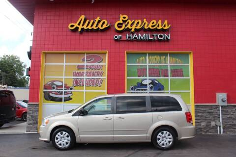2013 Dodge Grand Caravan for sale at AUTO EXPRESS OF HAMILTON LLC in Hamilton OH