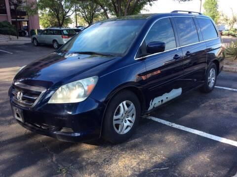 2005 Honda Odyssey for sale at AROUND THE WORLD AUTO SALES in Denver CO