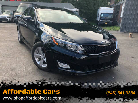 2015 Kia Optima for sale at Affordable Cars in Kingston NY