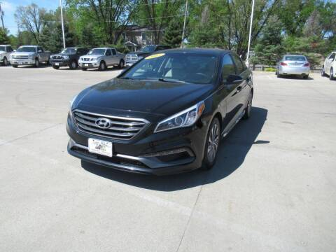 2015 Hyundai Sonata for sale at Aztec Motors in Des Moines IA