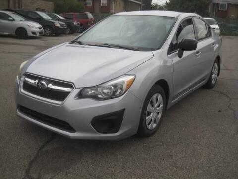 2012 Subaru Impreza for sale at ELITE AUTOMOTIVE in Euclid OH
