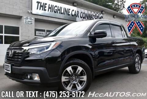 2017 Honda Ridgeline for sale at The Highline Car Connection in Waterbury CT