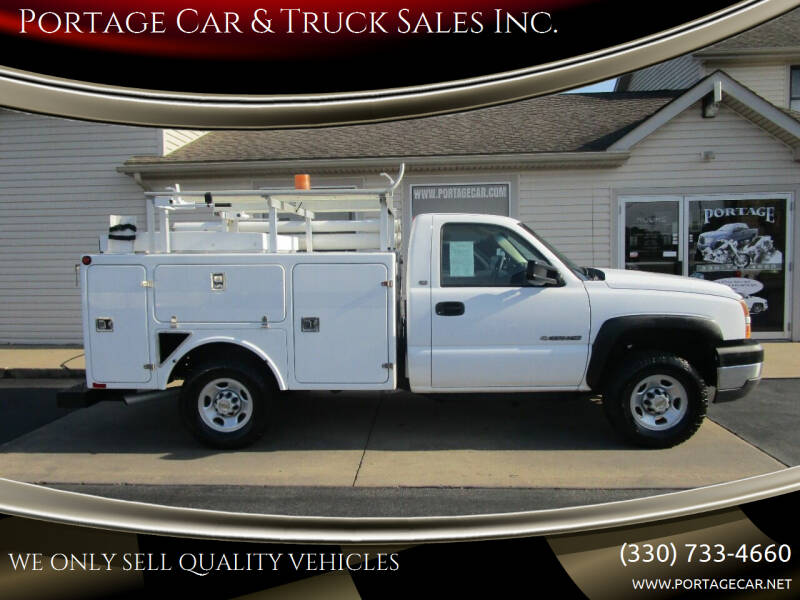 2005 Chevrolet Silverado 2500HD for sale at Portage Car & Truck Sales Inc. in Akron OH